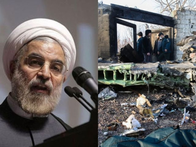 """Presidente iraní promete """"castigo para los culpables del derribo de avión ucraniano"""""""