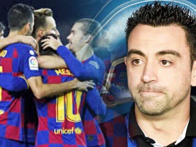 Xavi descarta dirigir al Barcelona, por ahora