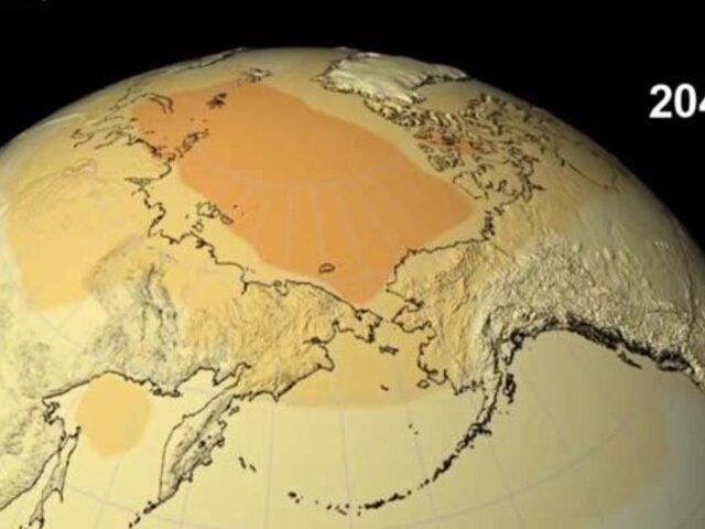 NASA revela alarmante predicción sobre el calentamiento global