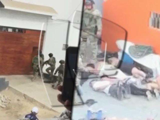 Punta Negra: allanan centro de operaciones de delincuentes venezolanos