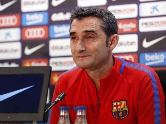 OFICIAL: Ernesto Valverde dejó de ser DT del FC Barcelona