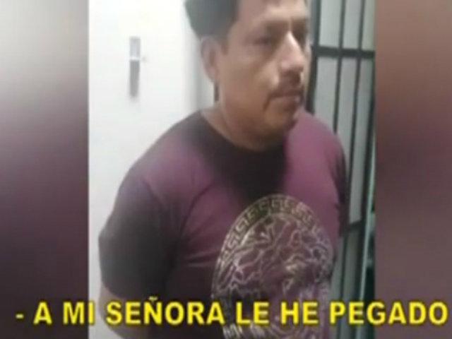 Chosica: menor grabó a su padre golpeando a su mamá