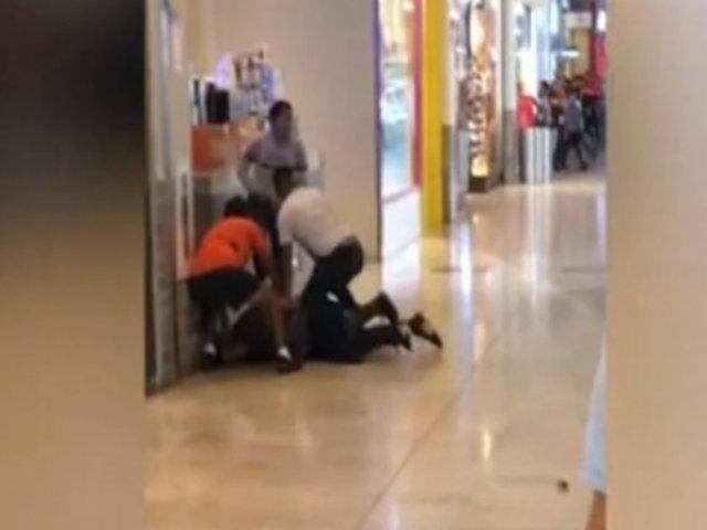Trujillo: detienen a extorsionadores en centro comercial