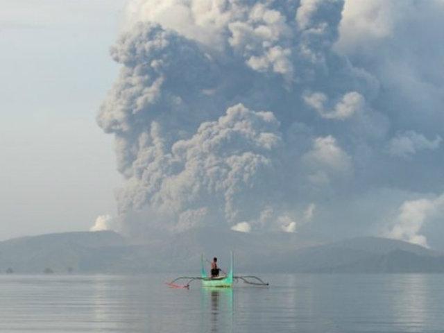 Filipinas: cenizas expulsadas por volcán Taal provocaron accidente y dejaron un fallecido