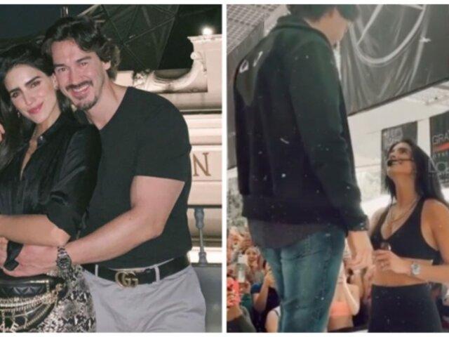 Actriz mexicana le pide matrimonio a su pareja durante evento