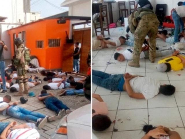 Búnker de Punta Negra: 80 de los 124 detenidos dispararon un arma en las últimas semanas