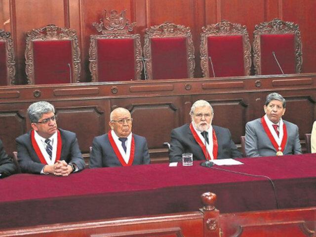 Tribunal Constitucional inicia hoy debate público sobre la disolución del Congreso
