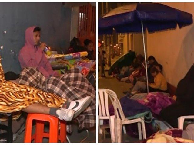 La Victoria: padres se amanecen haciendo colas para conseguir vacantes en colegio