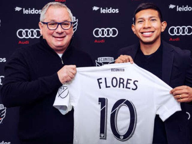 OFICIAL: Edison Flores es nuevo futbolista del DC United de la MLS