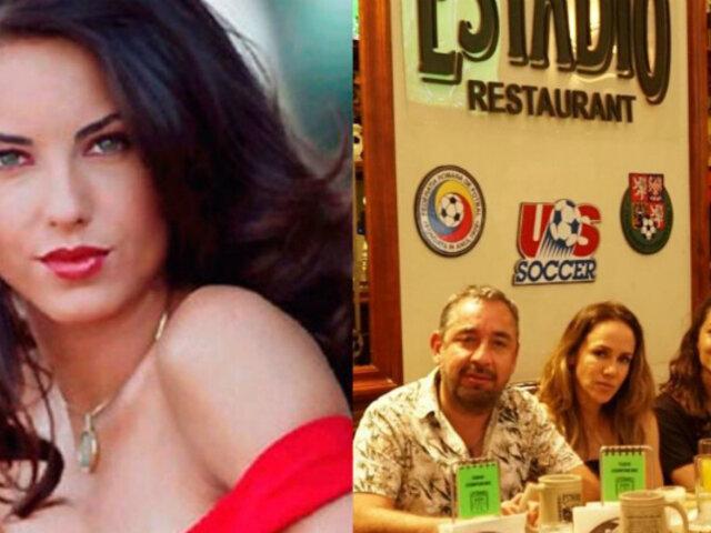 Bárbara Mori en Perú: actriz de 'Rubí' disfruta de gastronomía y pasea por calles de Lima