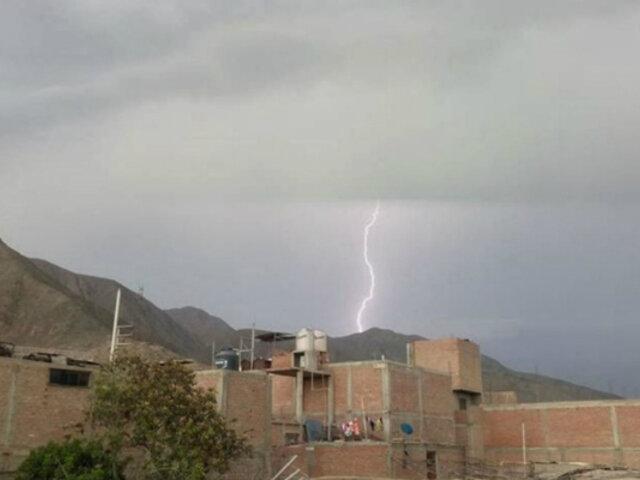 Indeci: 14 personas murieron por impacto de rayos o truenos en los últimos tres meses