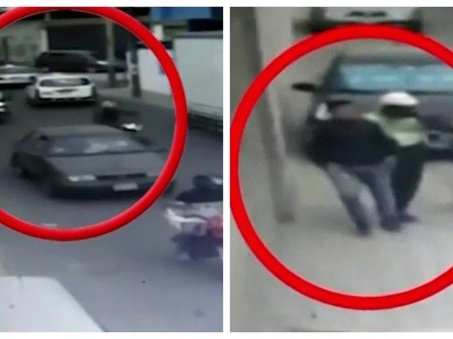 Salamanca: presunto ladrón es capturado tras intensa persecución policial