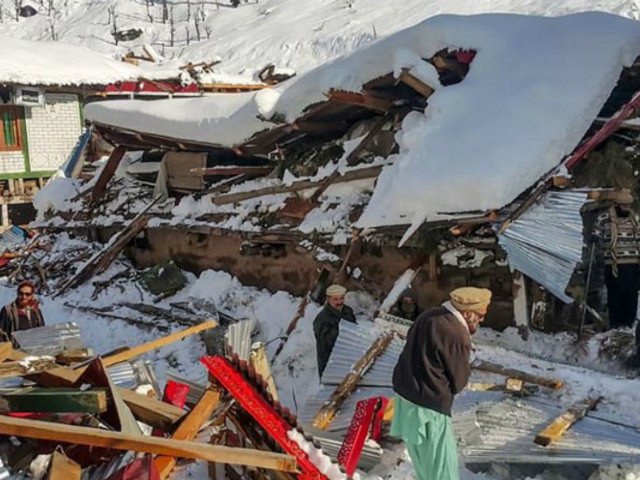 Pakistán: lluvias, avalanchas y nevadas dejan 94 fallecidos