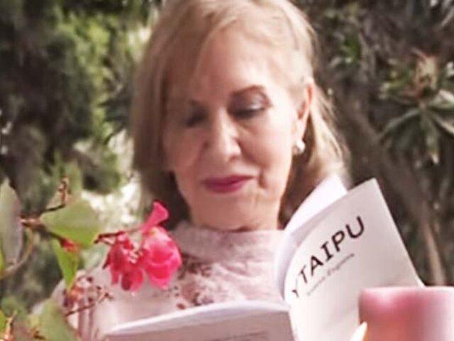 Ytaipú: escritora peruana Teresa Zegarra presenta su ópera prima