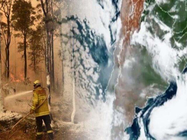 NASA: humo provocado por incendios en Australia recorrerá todo el planeta