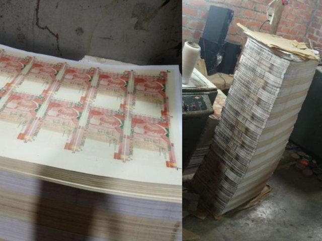 Ancón: Capturan a banda con S/30 millones de billetes falsificados