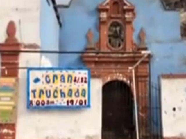Rímac: realizan actividad para poder refaccionar iglesia tras robo