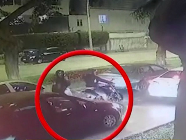 Miraflores: delincuentes aprovechan tráfico para robar celular a pasajero