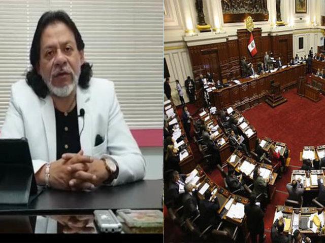César Gutiérrez: Incertidumbre en agentes económicos por perfil de nuevos congresistas