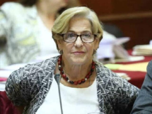 Susana Villarán: excaldesa pidió cese de prisión preventiva
