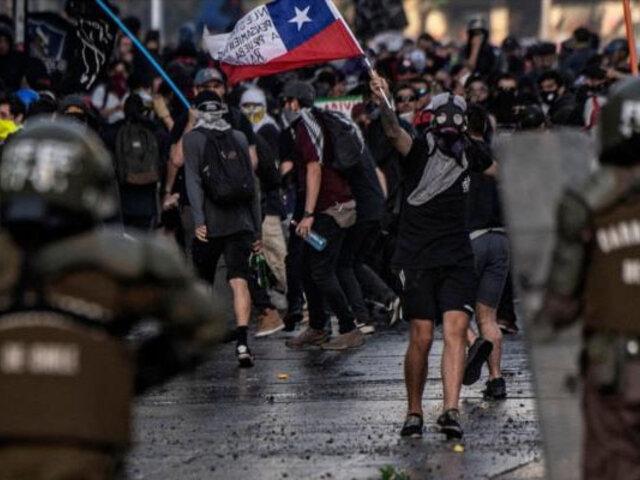 Polémica en Chile por aprobación de ley que sanciona violencia en protestas