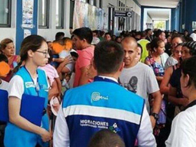 Tumbes: Fiscalía y Migraciones realizan operativo contra extranjeros indocumentados