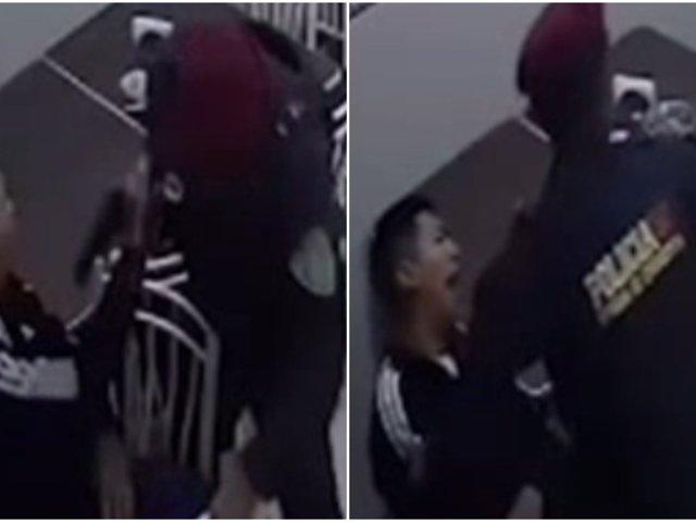 VES: policía abate a presunto delincuente en restaurante
