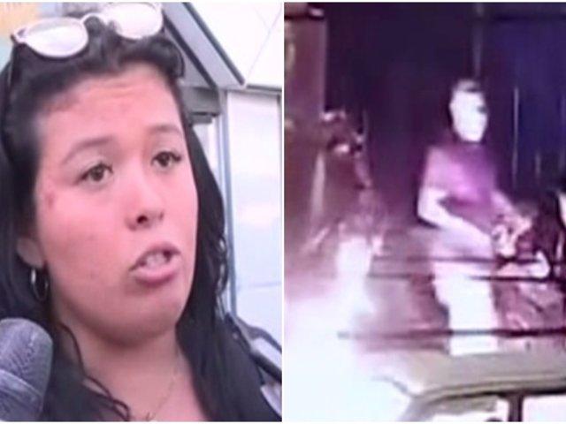 La Victoria: mujer que casi fue quemada por su pareja negó ser víctima de agresión