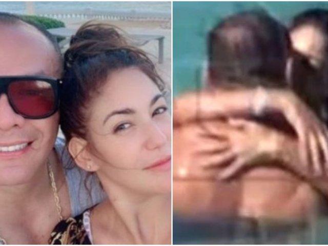 ¿Oficializaron su romance? Tilsa Lozano y Jackson Mora son ''ampayados'' muy cariñosos en playa de Miami