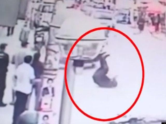 Cañete: sereno es atropellado por mototaxista que se dio a la fuga en operativo