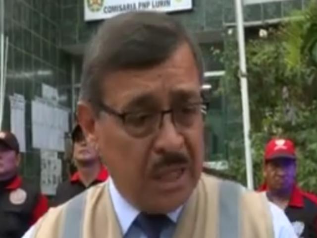 Municipio de Lurín también pide más apoyo policial ante delitos de extranjeros