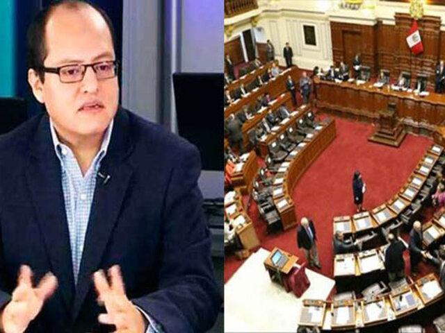 Víctor Hugo Quijada: Se debe delimitar las causales de disolución del Congreso