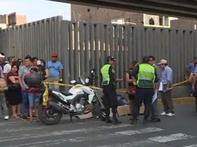 La Victoria: conductor de camión atropella y mata a anciana recicladora