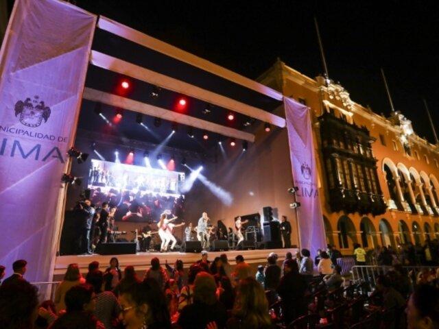 Así fue la celebración de los 485 años de la fundación de Lima