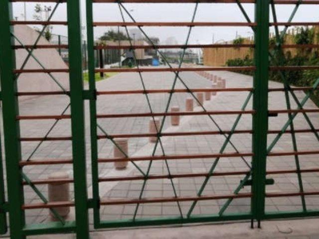 Vecinos incómodos por instalación de reja que divide Miraflores y San Isidro