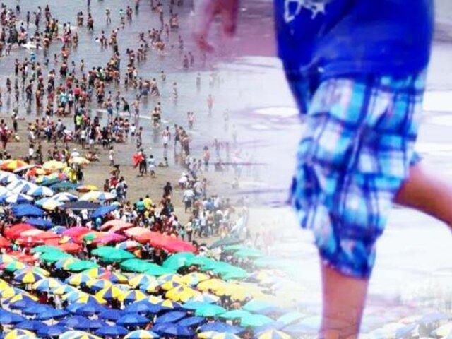 ¡Alarmante situación!: Niños perdidos en playa Agua Dulce