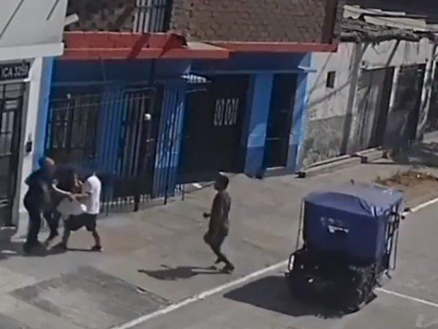 SMP: vecinos hartos de asaltos diarios exigen mayor seguridad