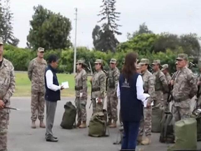 Miembros del Ejército se preparan para brindar seguridad en Elecciones 2020