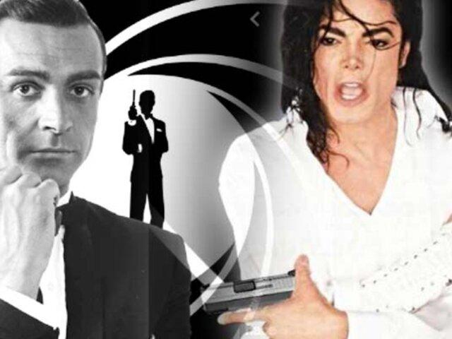 Libro revela que Michael Jackson quiso ser James Bond