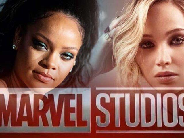 Rihanna y Jennifer Lawrence son voceadas para integrarse al universo de Marvel