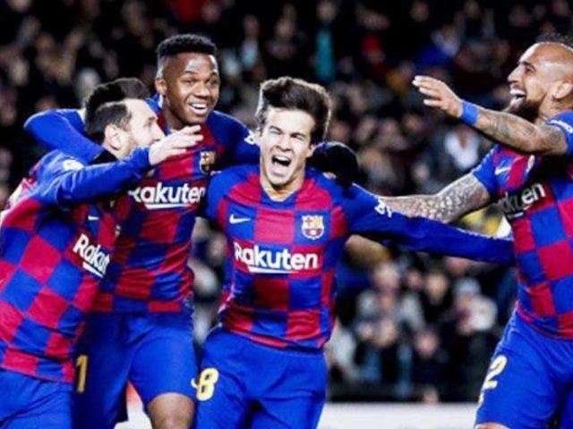 Barcelona derrota al Granada con un gol de Messi