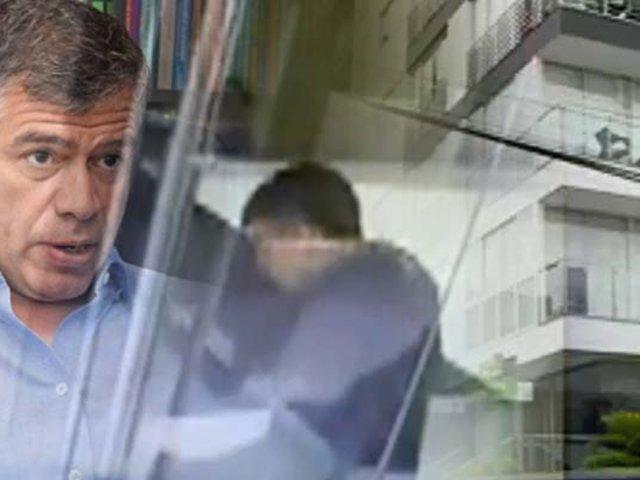 Exclusivo | La huida de Julio Guzmán: captan al líder del Partido Morado involucrado en confuso incendio