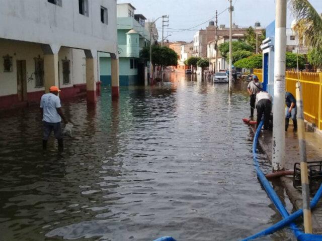 Emergencia en Pacasmayo: acequia se desborda y deja más de 200 familias afectadas