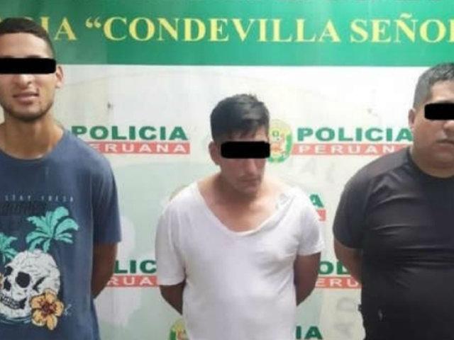Capturan a tres sujetos que asaltaron a menor para robarle su celular en SMP