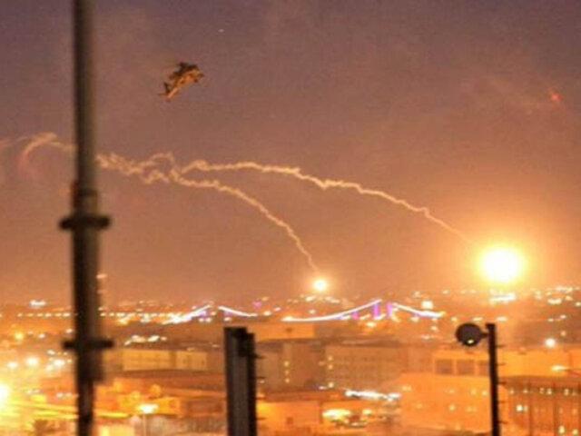 Nuevo ataque en Irak: impactan tres cohetes cerca a la embajada de Estados Unidos