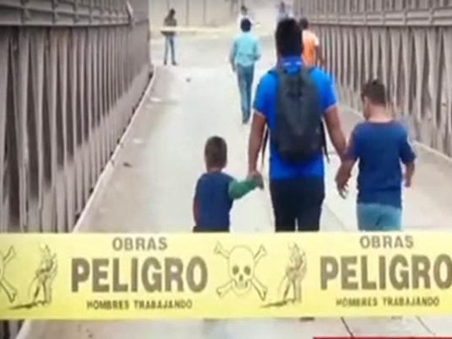 Colapso de puente Bailey perjudicaría hasta a 100 mil residentes