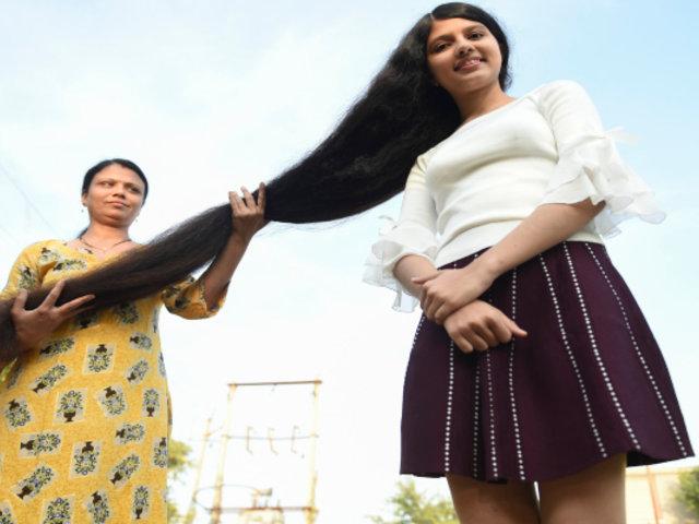 Conoce a la adolescente con la cabellera más larga del mundo