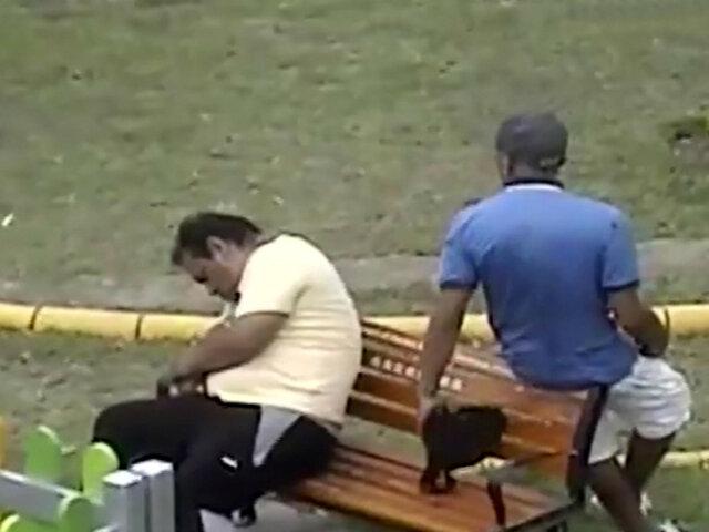 Pueblo Libre: capturan a sujeto que robaba en parques infantiles