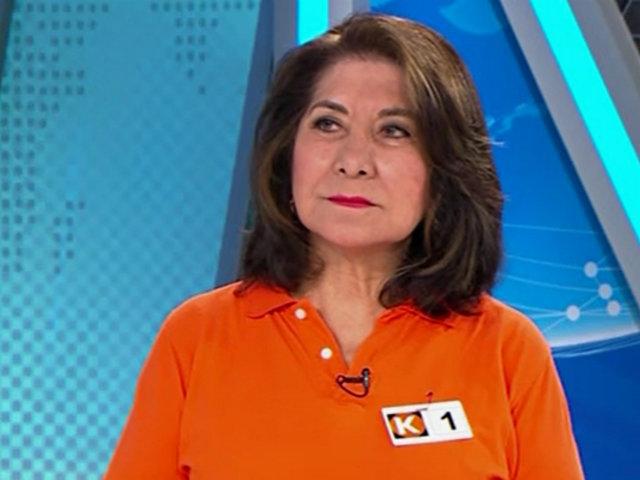 """Martha Chávez: """"La campaña no debió ser de otra manera, esta elección no debió realizarse"""""""