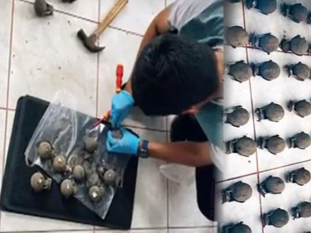 Dirandro: hallan cocaína del Vraem escondida en ruedas de maletas